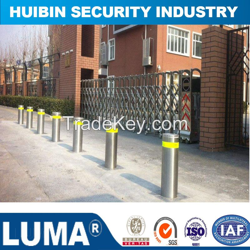 Security System Retractable Parking Traffic Automatic Hydraulic Bollard