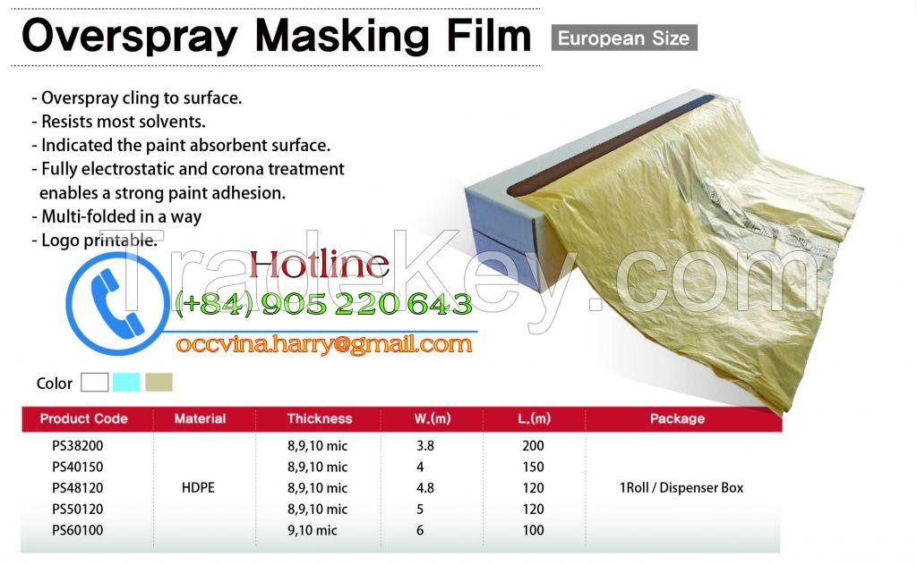 Overspray Masking Film