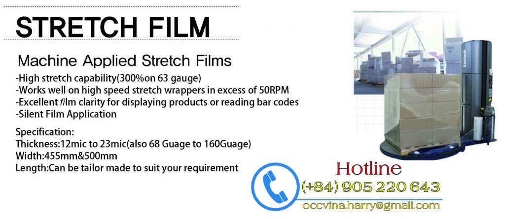 Stretch Film for hand wrapping
