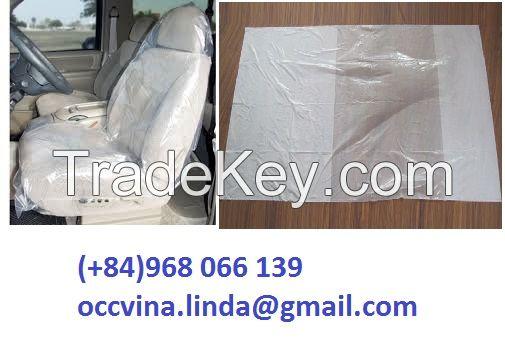 PLASTIC CAR SEAT COVER