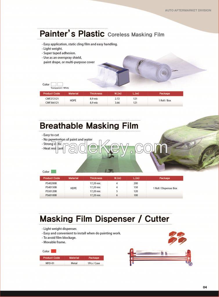 Automotive Spray Sheeting