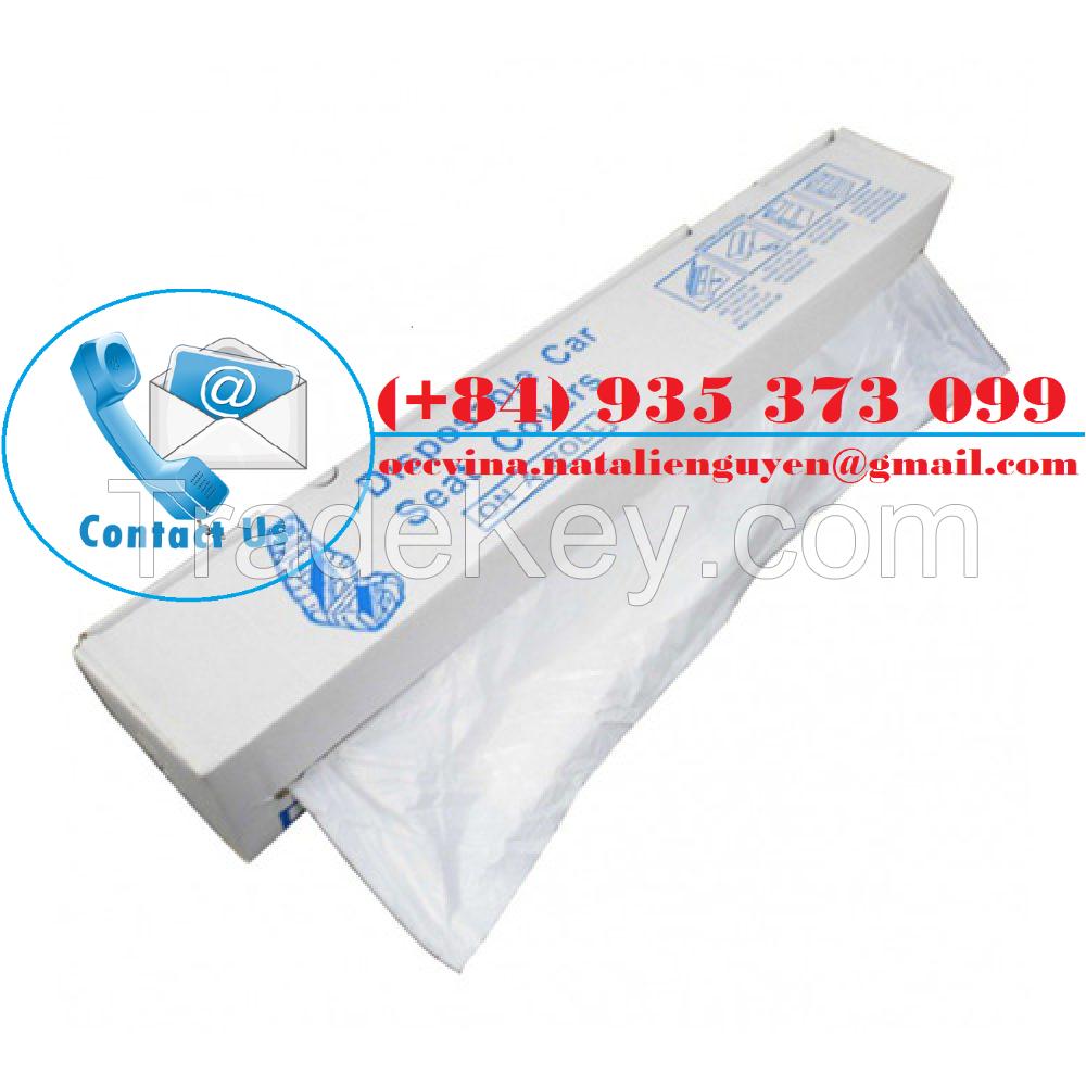 Disposable Plastic Car Seat Cover