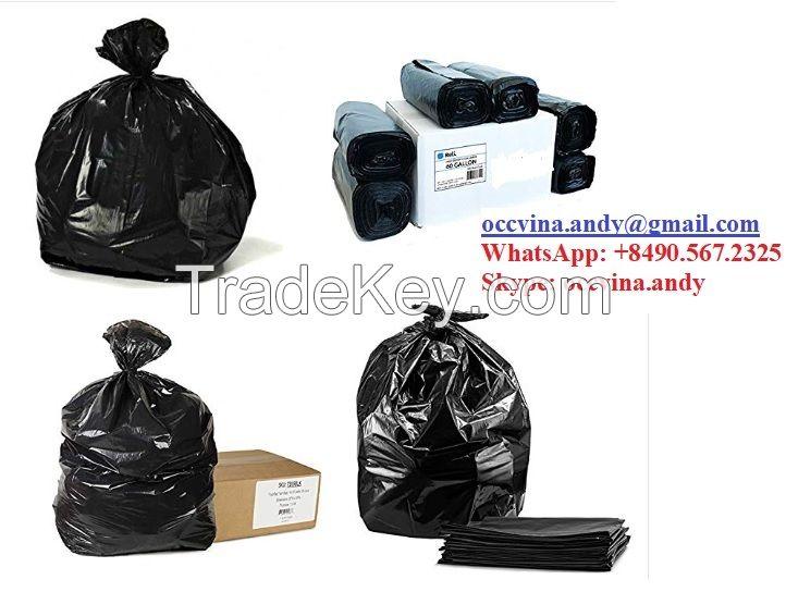 GARBAGE BAG/ TRASH BAG/ PLASTIC BIN BAG/ DINNER SACK