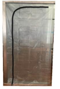 Protective Zipper Door