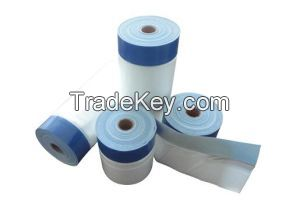 Outdoor Masking Film with Cloth Tape