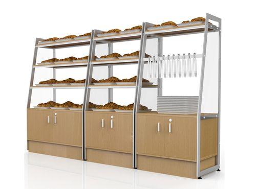 supermarket display rack, supermarket shelves, display shelf, supermarket rack
