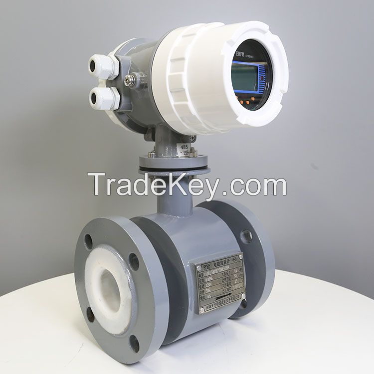 high precision 220v water electromagnetic flow meter