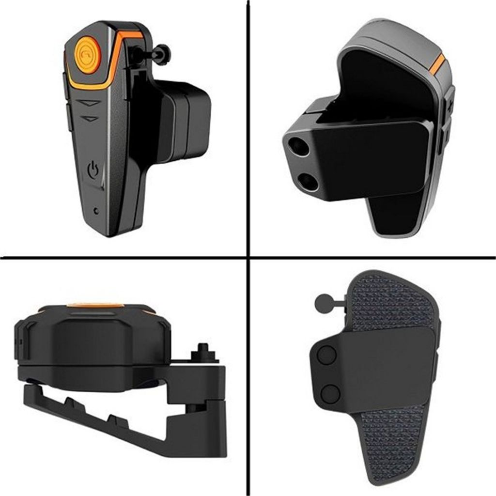 BTS2 1000M Bluetooth Headset Motorcycle Intercom with User Manual and Two Way Radio