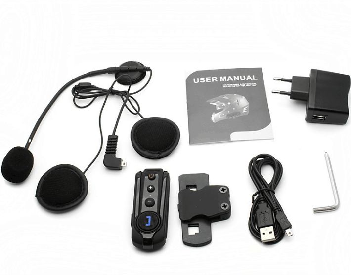 Wireless Bluetooth BT Interphone Motorcycle Helmet Headsets Intercoms
