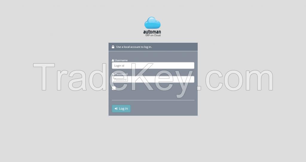 Automan ERP on Cloud