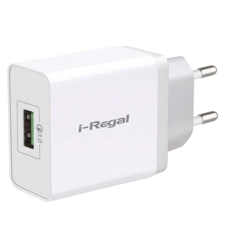 2018  QC3.0 wall charger 1USB travel charger