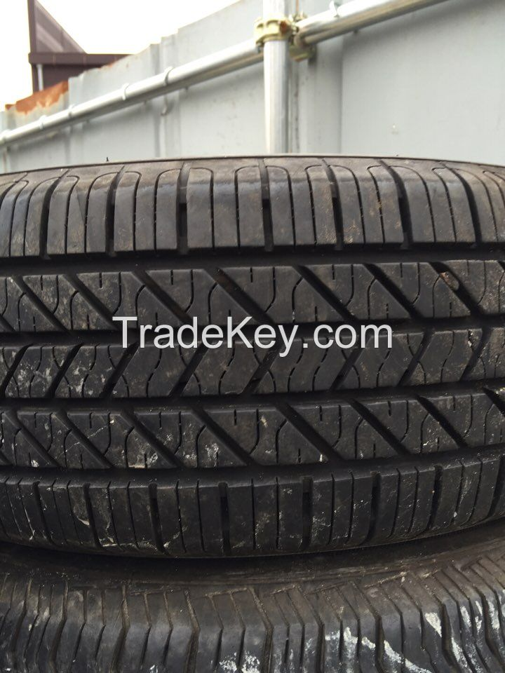 Used PCR, SUV and LTR tires