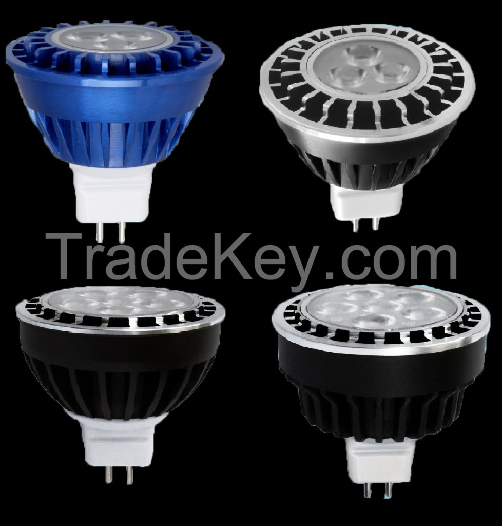 LED MR16 Retrofit Lamps for Outdoor Lighting