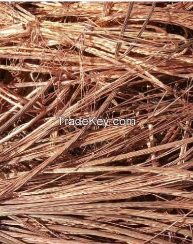 copper scrap wire high quality 99.9%