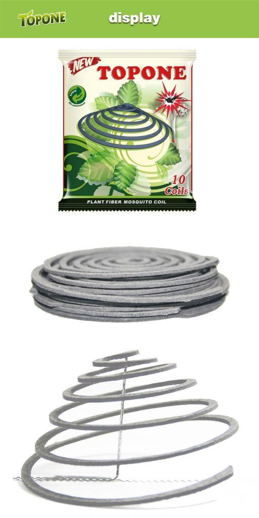 2018 Hot Sale Plant Fiber Natural Mosquito Repellent Coils