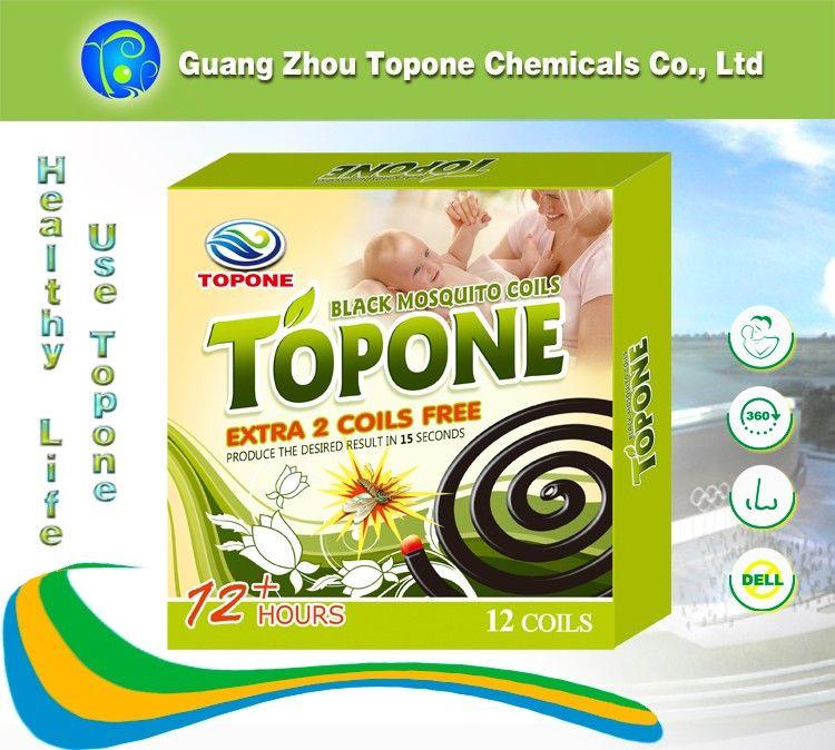 2018 HOT Sale Topone Black Mosquito Coil 138mm