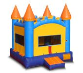 4*4m Inflatable toy combination water slide cheap inflatable castle fo