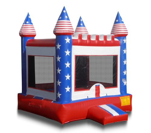 4*4m Cheap inflatable castle inflatable toy combination water slide