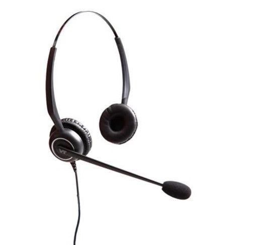 Mono headsets Telecoms Headsets with traditional deskphones as well as PC based softphones with hearing