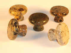 Granite knobs