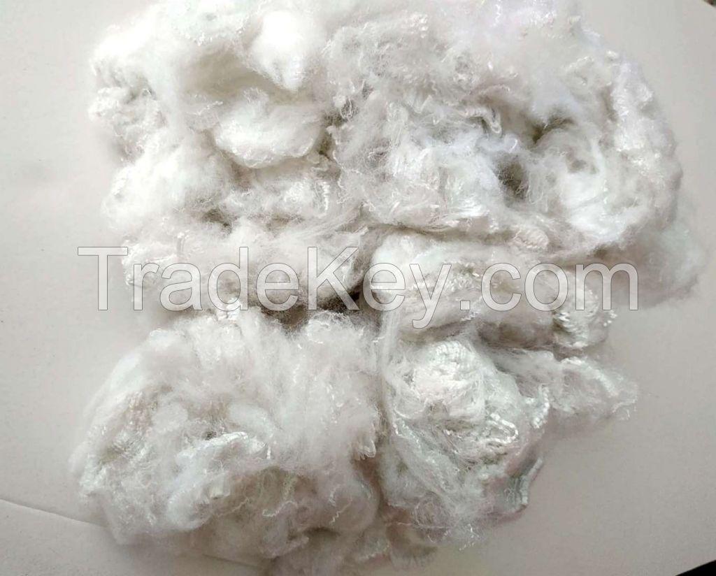 Recycled Fur-like Polyester Staple Fiber