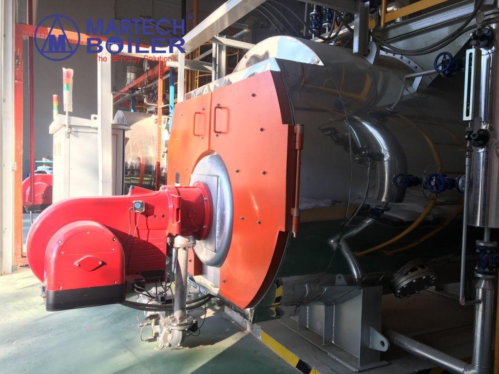 Martech Boiler Vietnam ( ASME, EN, JIS Standard ) Gas Fired Boiler