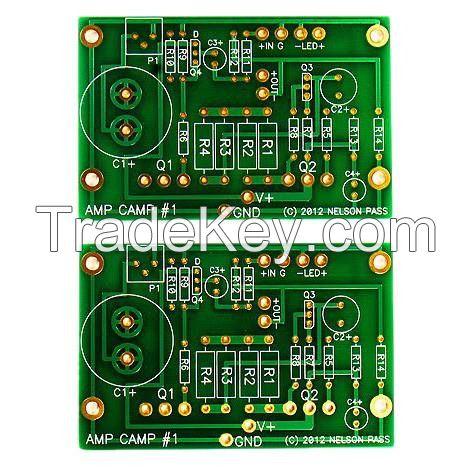 Quick Turn FR4 2 Layer Aluminum PCB Printed Circuit Board