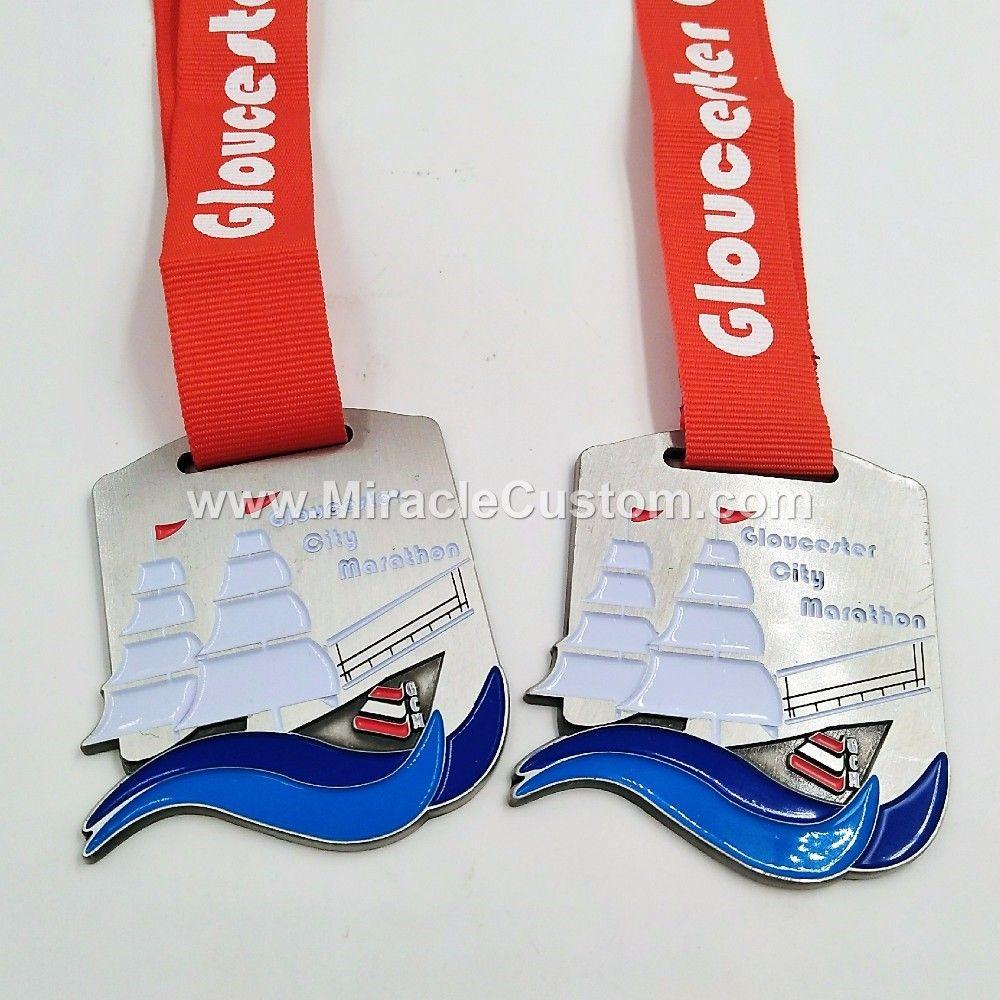 custom city marathon sports medals