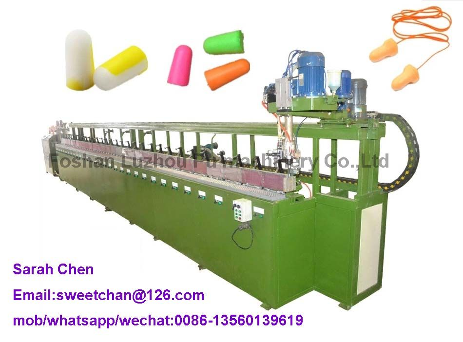 Pu ear plug foaming production machine
