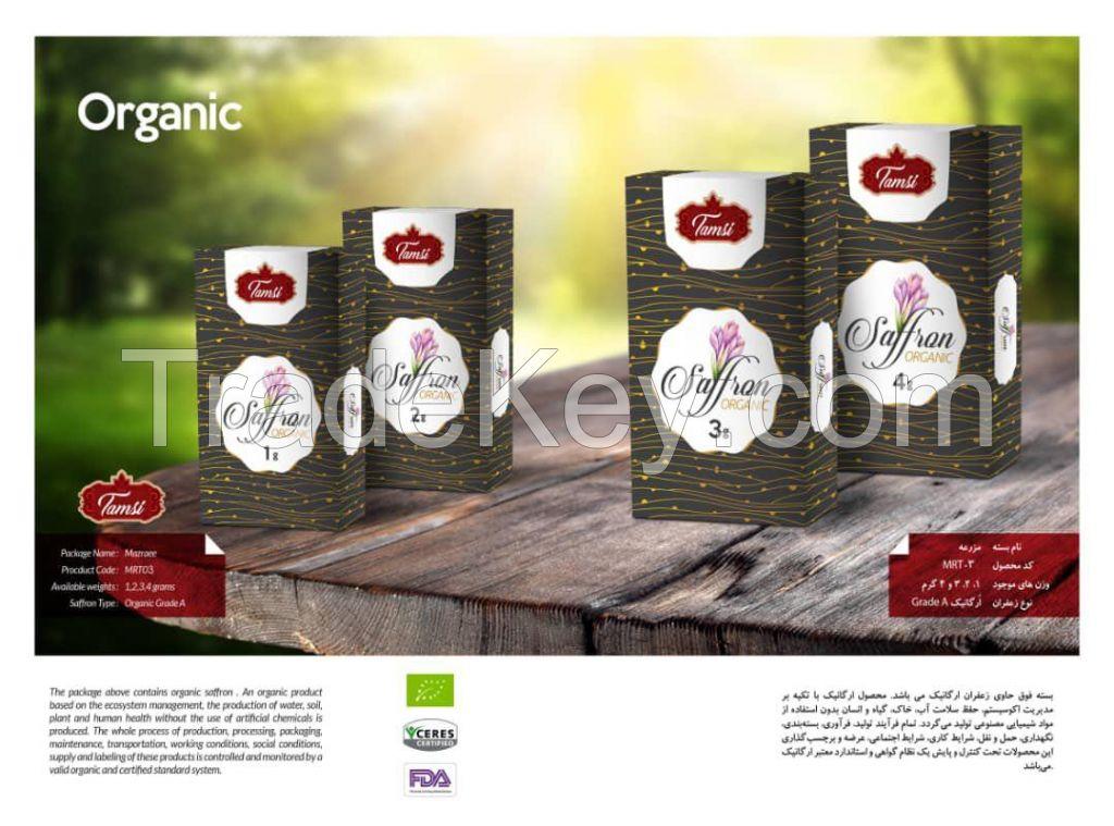 Iranian Organic Saffron - TAMSI