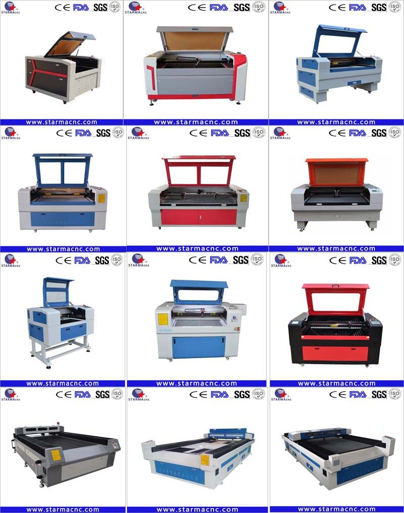 RECI 100W cnc co2 laser cutting engraving machine