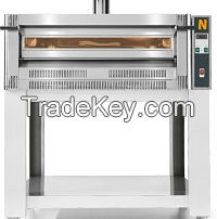 PIZZA OVEN , GAS working, single deck