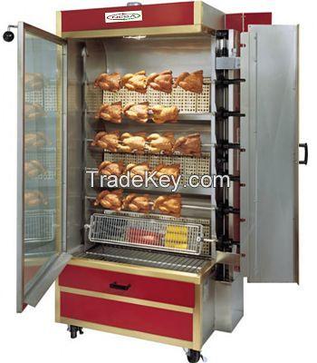 Electric Rotisserie Chicken Grill Machine