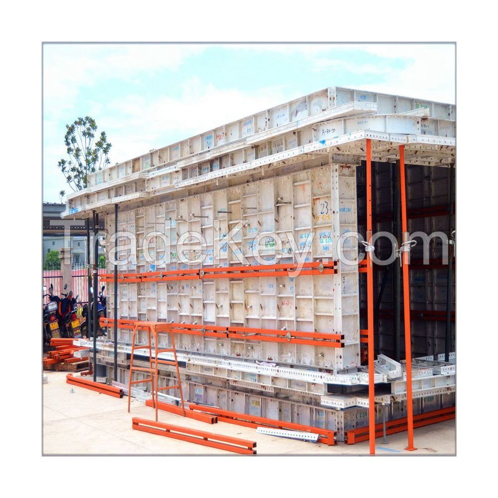2019 Newest Formwork Shuttering Beam Concrete/ Column Concrete Aluminum Formwork Plastic Formwork/Aluminium Formwork System