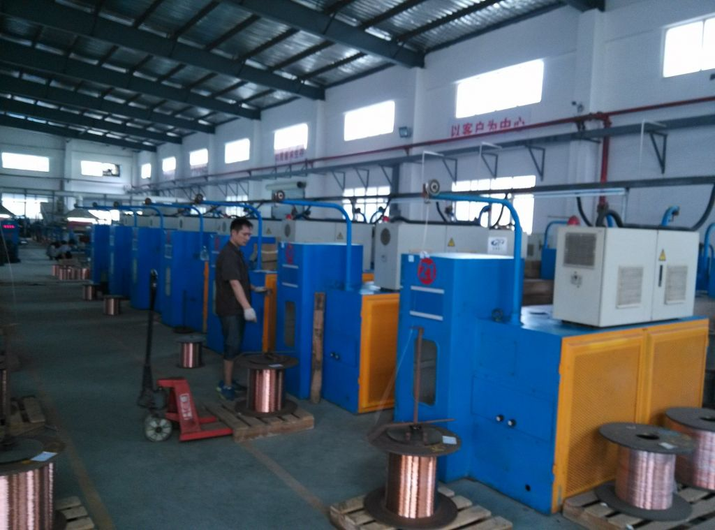 Intermediat Copper Wire Aluminum Wire Drawing Machine with Annealing