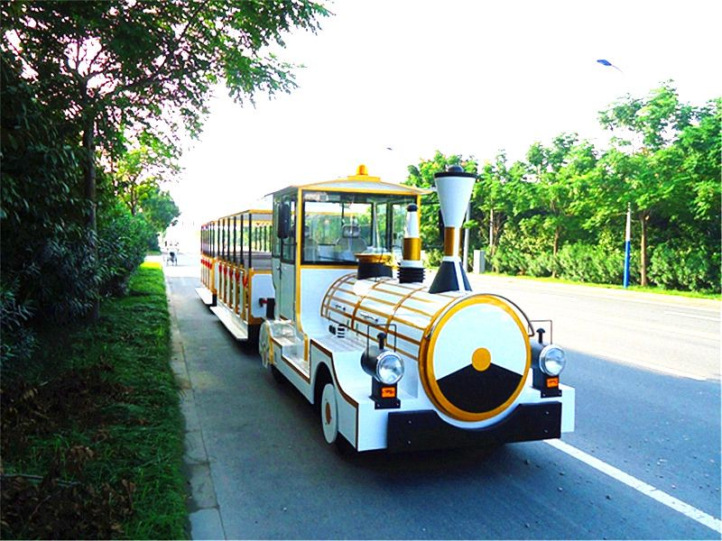 42 Seater Amusement Park Sightseeing Train Tourist Train Model Dsw-D42