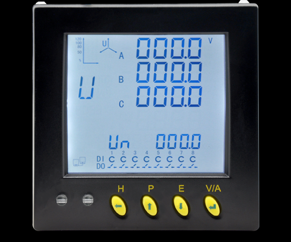 Multifunctional power meter