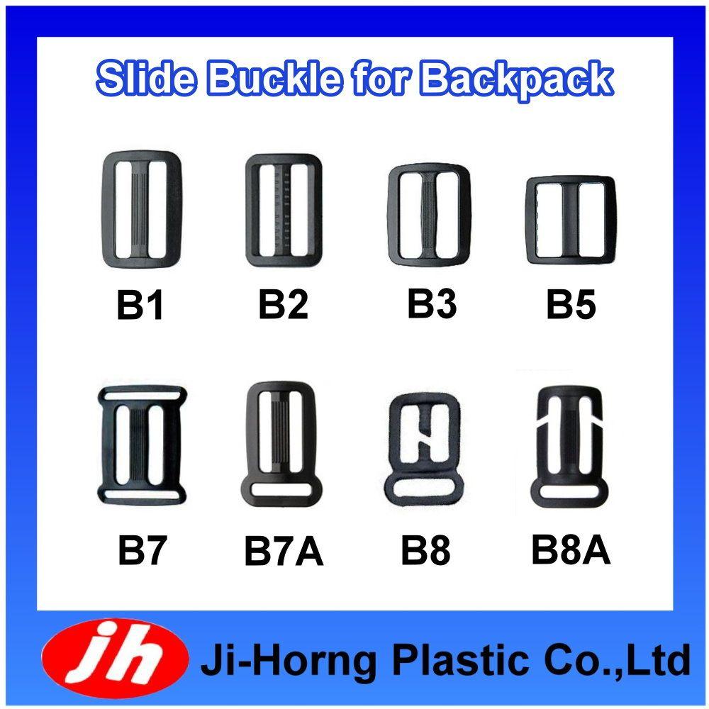 Multiple Selections of Plastic Adjustable Slide Buckle/Slider for Bag Part