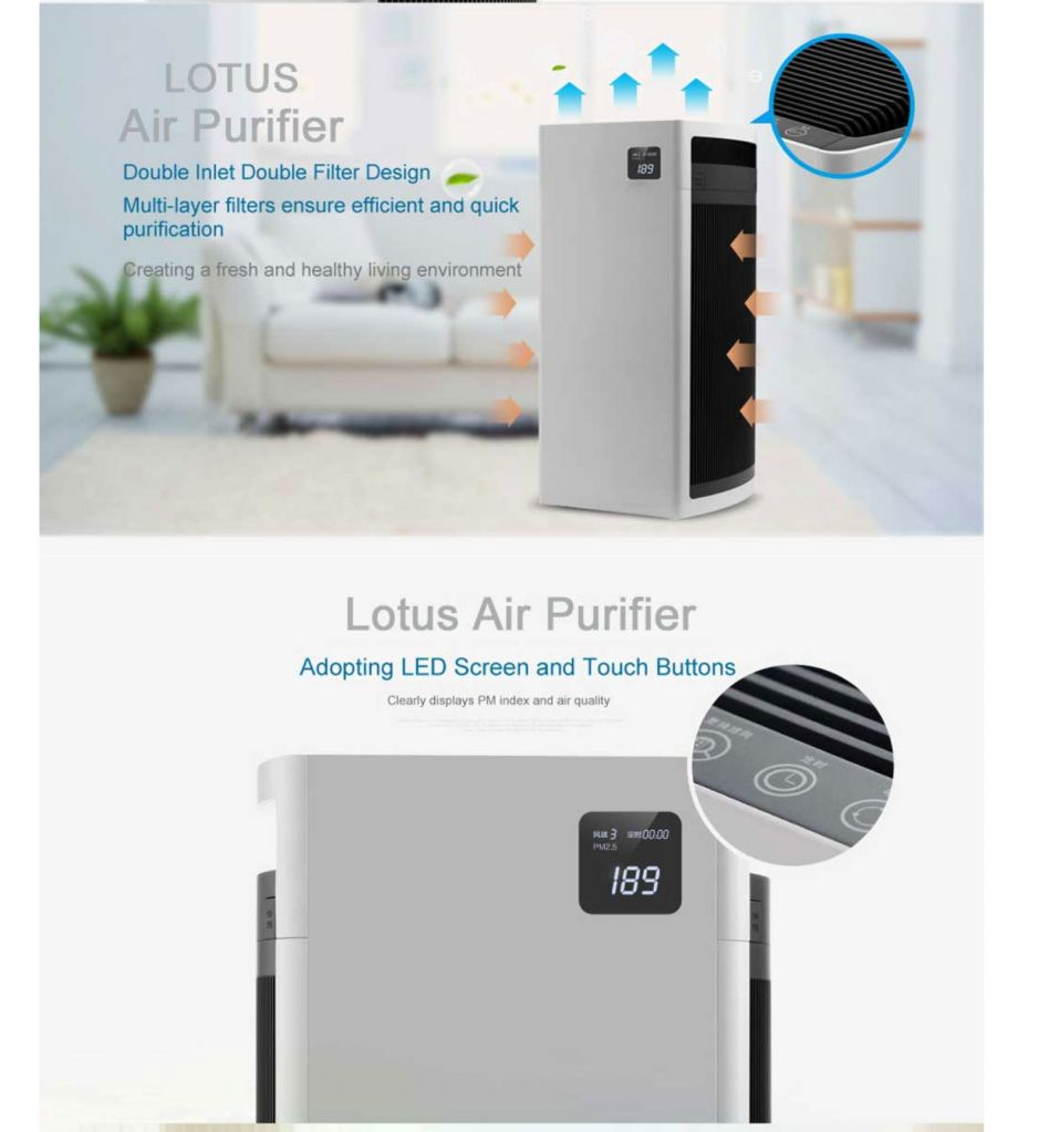 Best room air purifier LT-AIR800 HEPA filters best air purifier for whole room
