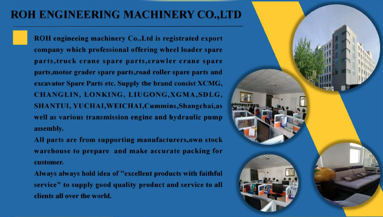 XCMG spare parts ZOOMLIN spare parts LIUGONG spare parts SDLG spare parts