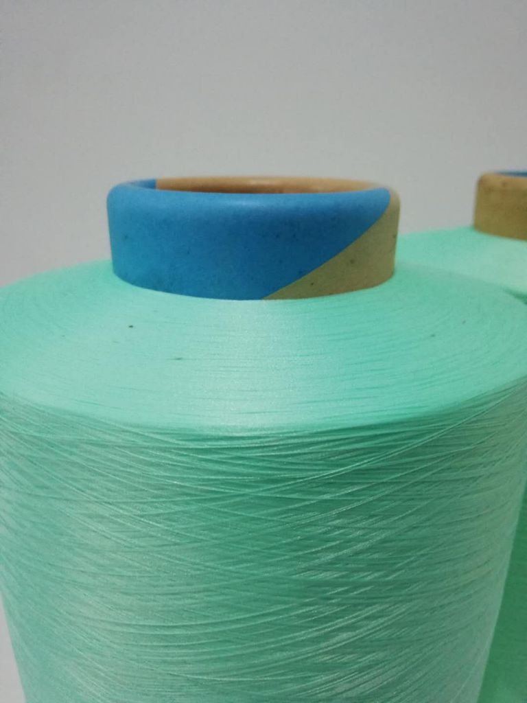 AA GRADE Low price recycled ATY 100% polyester DTY Spun dope dyed FDY yarn for knitting and weaving