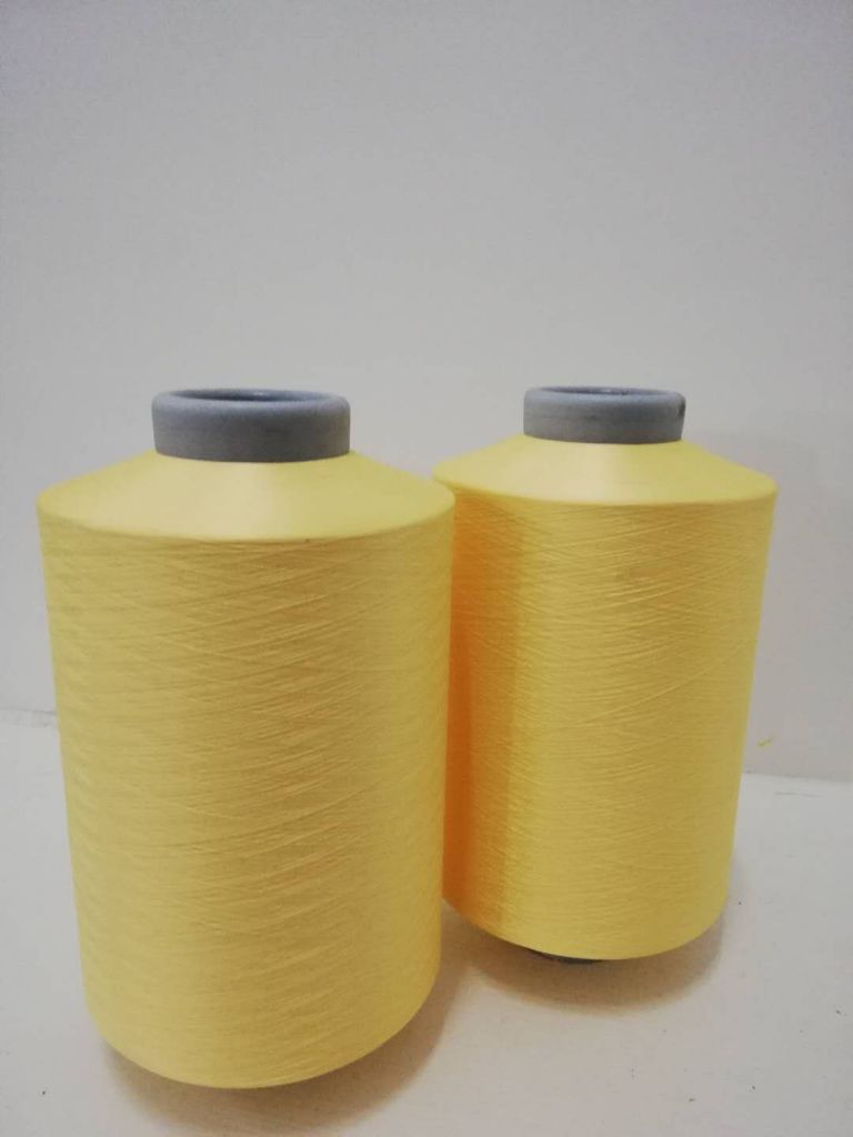 high quality DTY Free samples filament recycled polyester dyed yarn150/48 colorful dyed yarn made from bottles