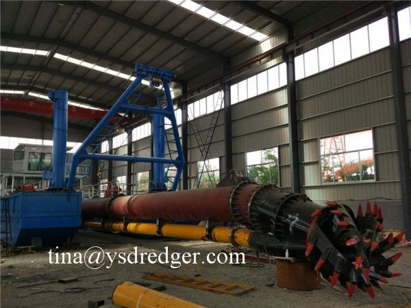 Yong Sheng customized mud cutter suction dredger machine for hot sale.