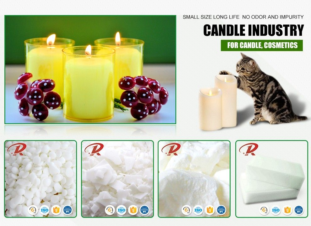 Fully refined KUNLUN paraffin wax 54 56 58 60 64 soy wax for natural and scented candle making crayon making