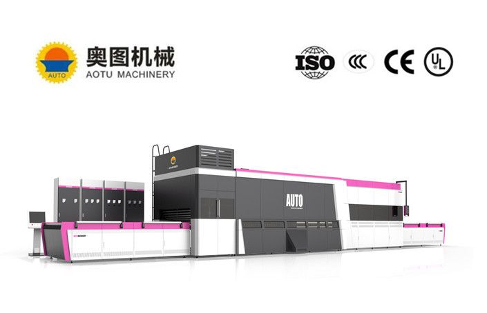 Flat and Bent type Glass Tempering Furnace Tempered Glass Making Line