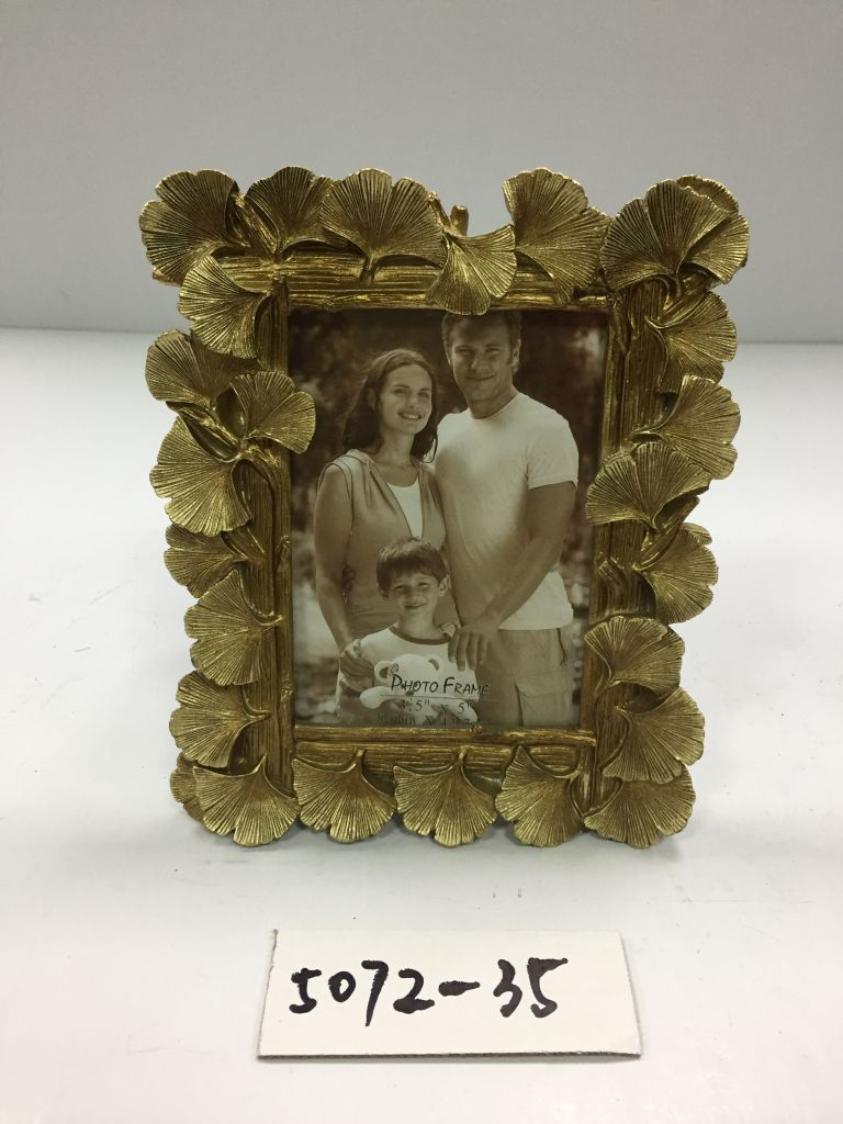 Enjoy 5072 Resin Gold Leaf Photo Frame 3