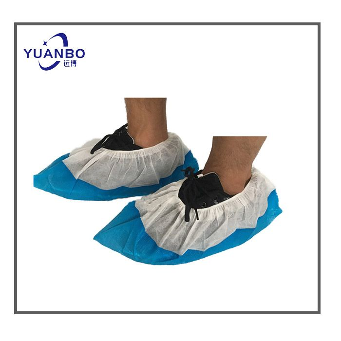 Disposable CPE Shoe Cover With sole