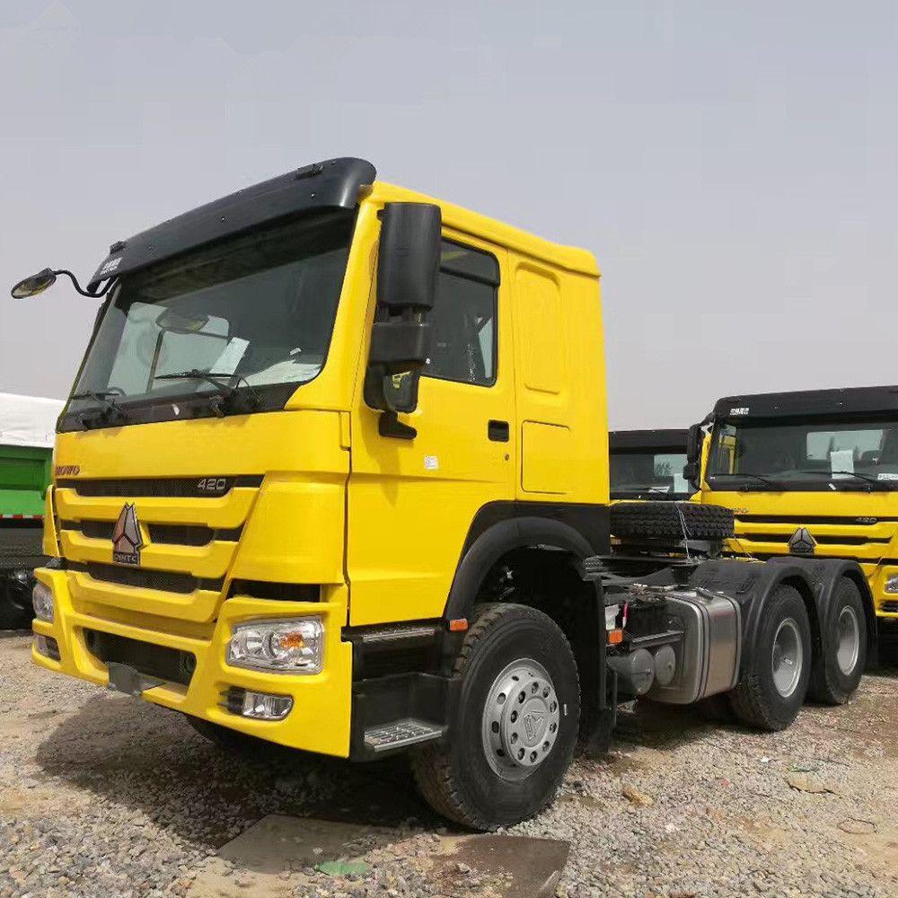 SINOTRUK New Diesel Manuel 10 Wheel 336HP HOWO Trailer Truck