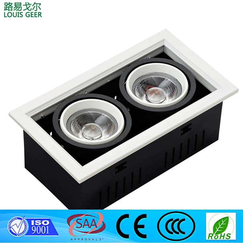 5w,10w,20w,30w china direct led grille light for retail lighting solution