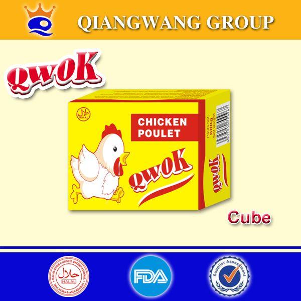 Qwok 10g Halal Chicken Flavour Seasoning Cubes